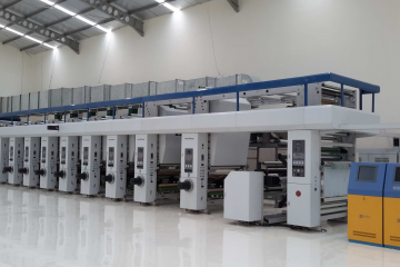 Machine-HIGH SPEED ROTOGRAVURE PRINTING PRESS
